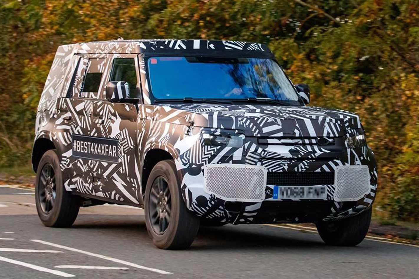 2020 Land Rover Defender Camo Front Jpg