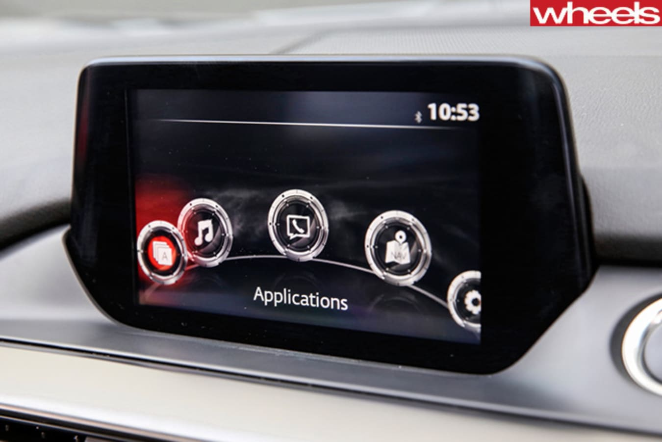 Mazda -6-MZD-connect -infotainment -system