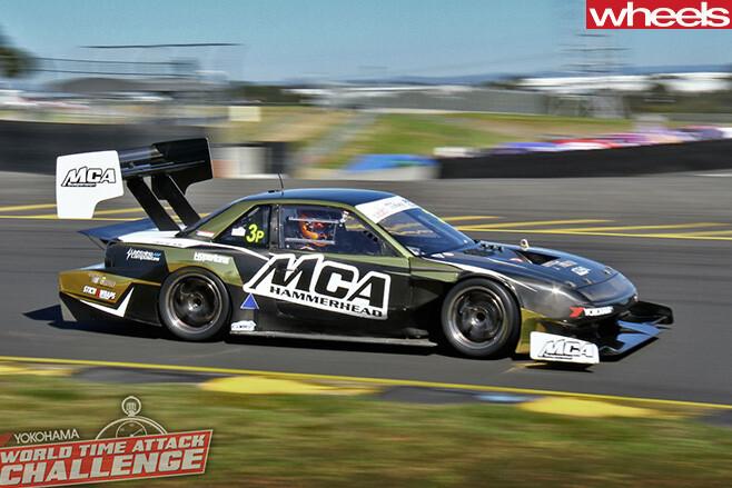 Tim -Slade -WTAC-lap -record -Nissan -Silva -S13