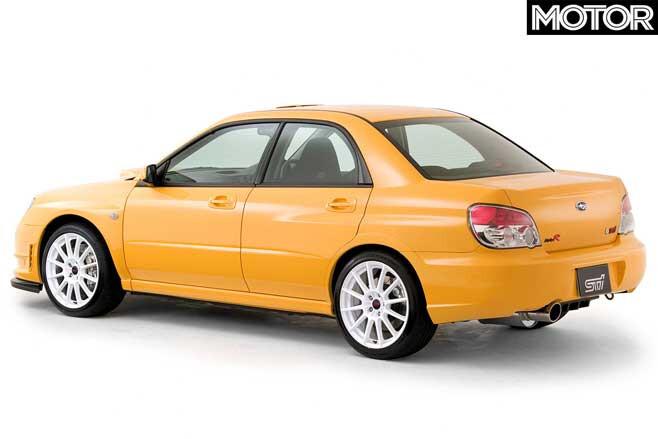 2007 Subaru Impreza WRX STI Spec C RA R Rear Jpg