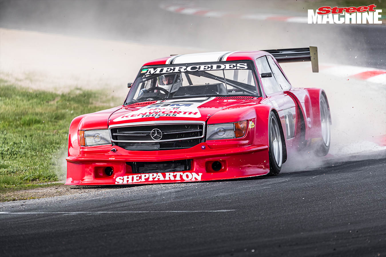 Winton Mercedes track day