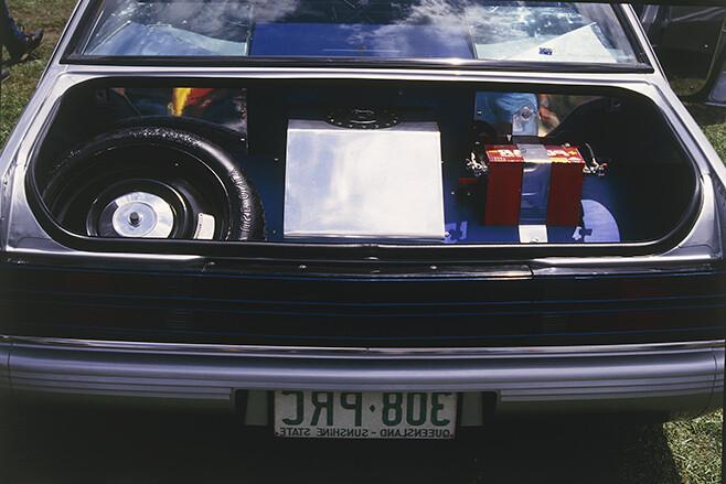 Holden VK Calais boot