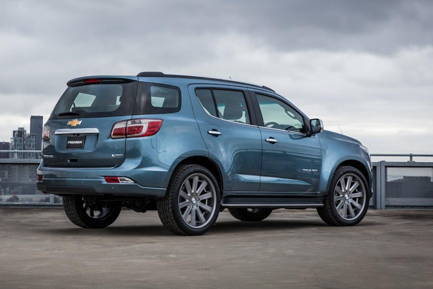 Holden Trailblazer to replace Colorado 7