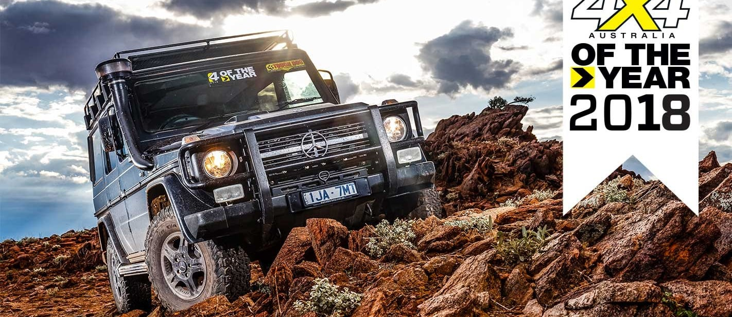 4x4 of The Year 2018 5 Mercedes Benz G300 Professional feature