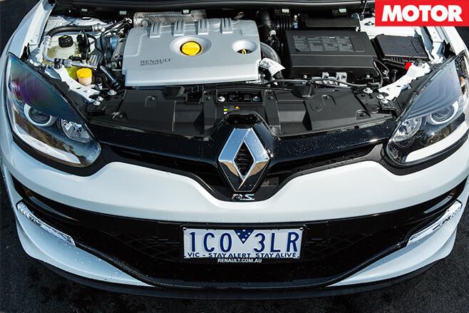 Megane RS265 engine