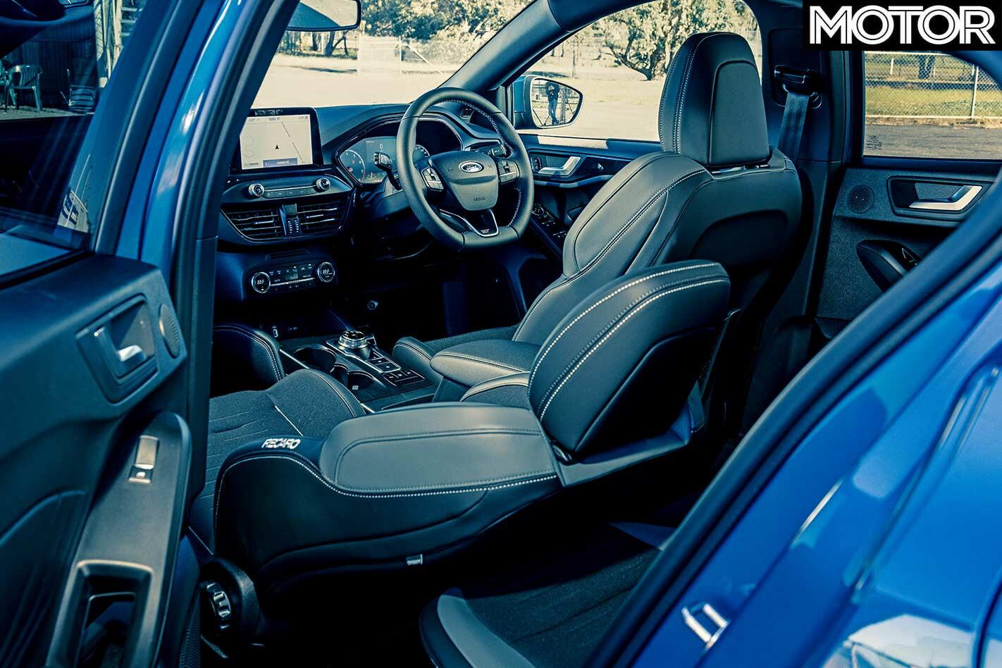 Ford Focus ST interior
