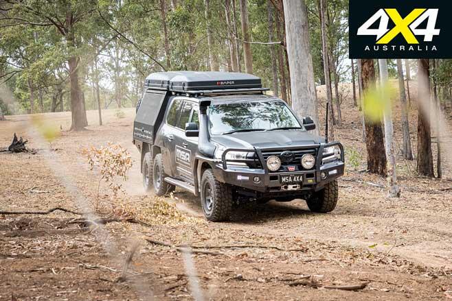 MSA 4 X 4 Toyota Land Cruiser 200 6 X 6 Project Super Cruiser Road Jpg