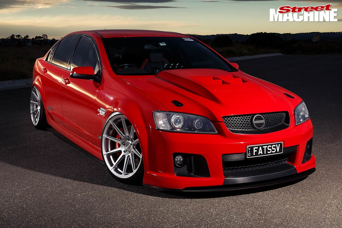 Holden VE SS Commodore front