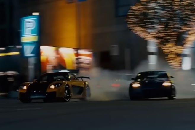 Tokyo Drift chase
