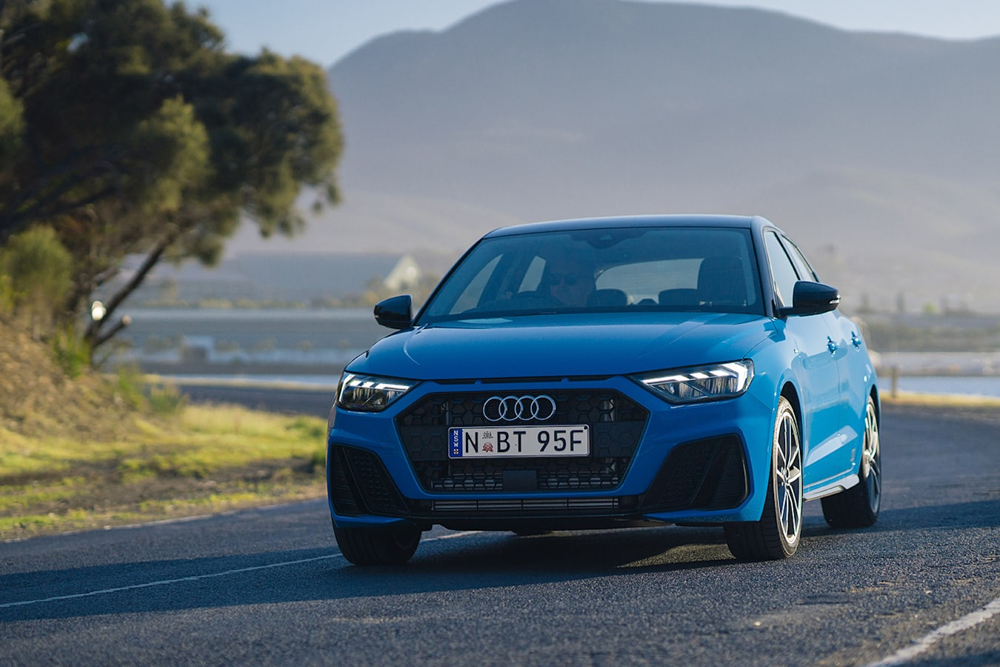Audi A 1 Blue Jpg