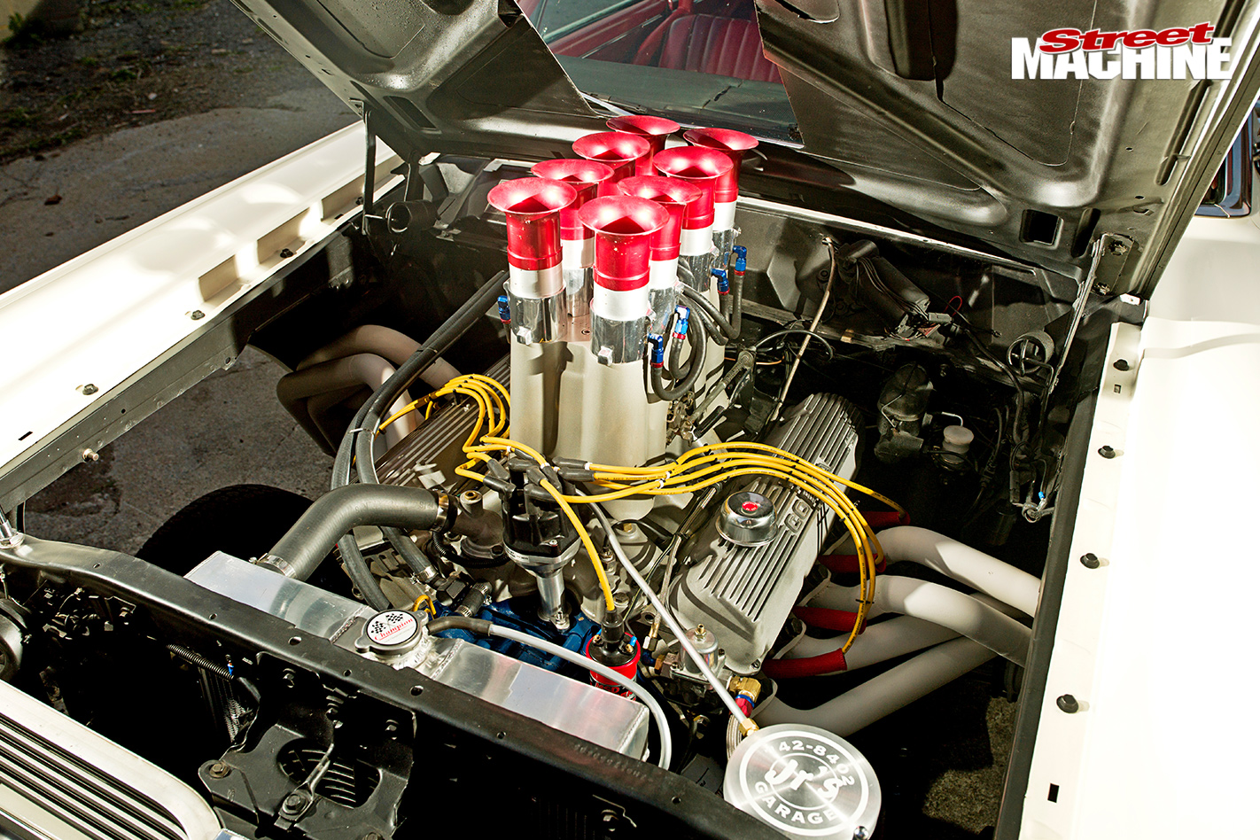 1967-MERCURY-COMET-GASSER-engine