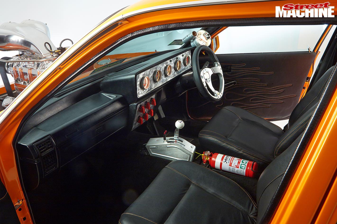 Holden VC Commodore interior