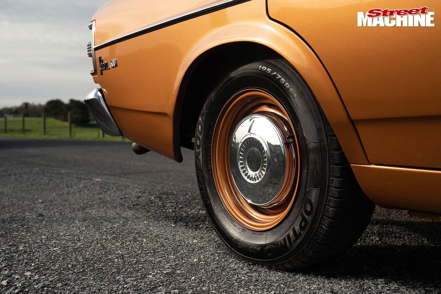 Ford XY Falcon sleeper wheel