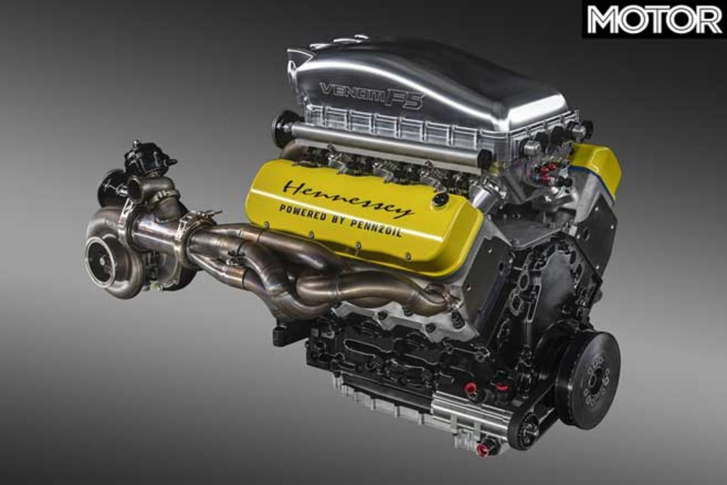 Hennessey Venom F 5 V 8 Engine Design Jpg