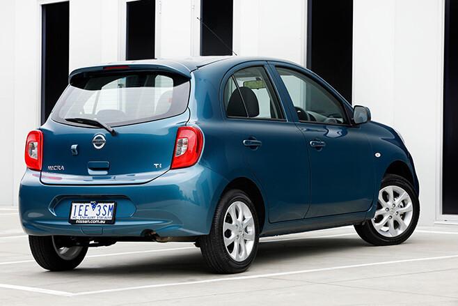 Nissan -Micra -rear