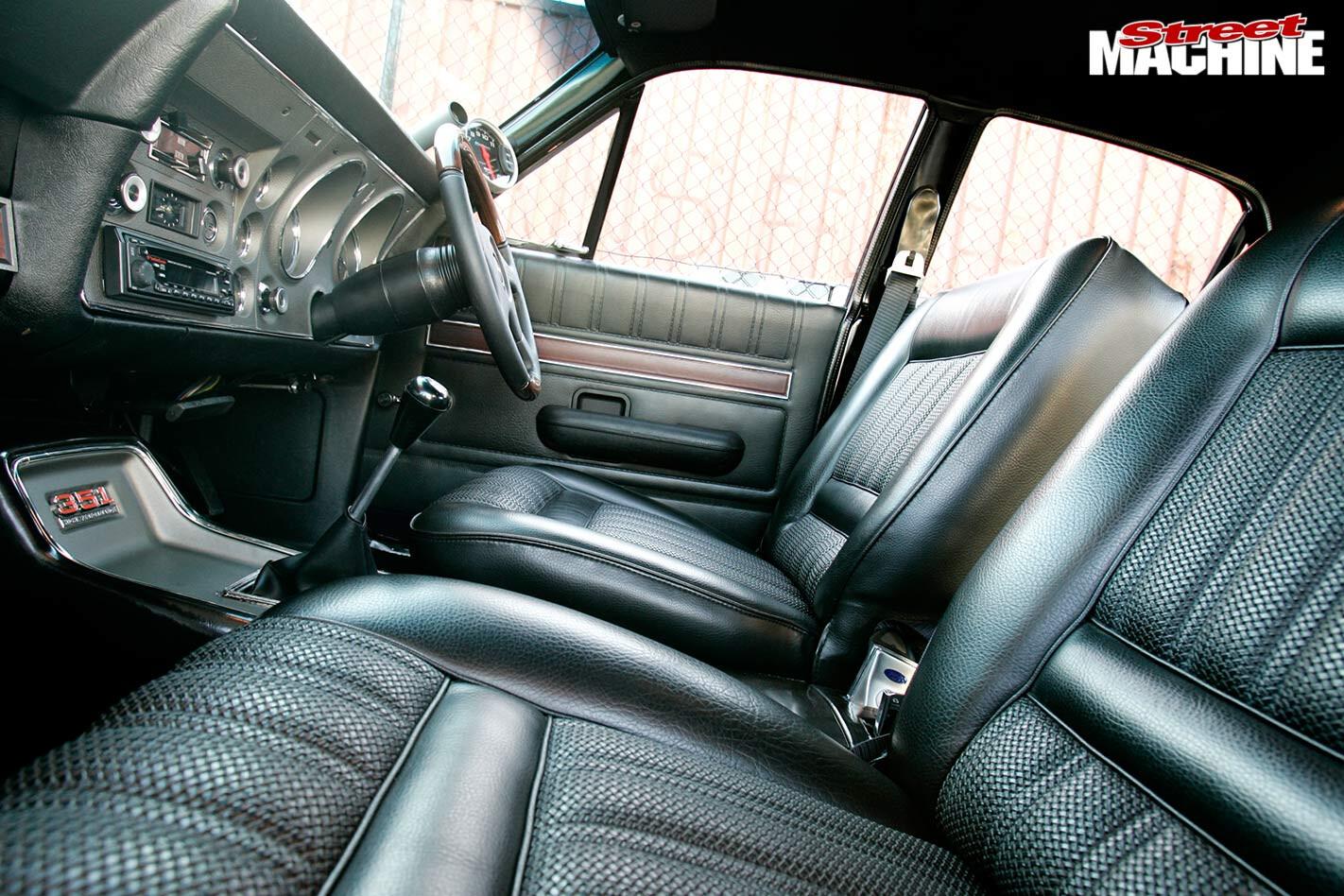 Ford Falcon XY GT interior