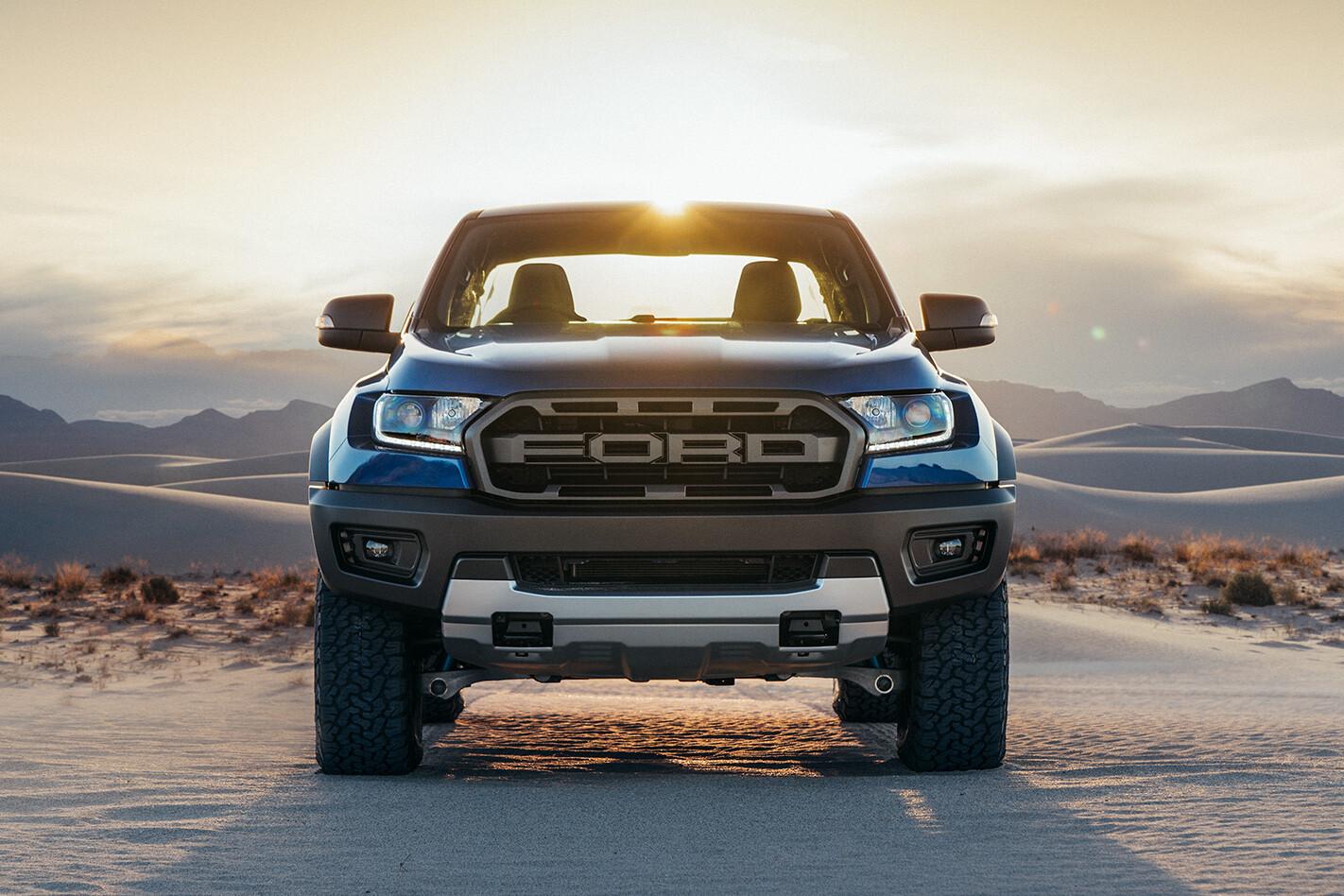 Ford Ranger Raptor Front On Jpg