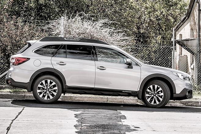 Subaru -outback -20d -profile