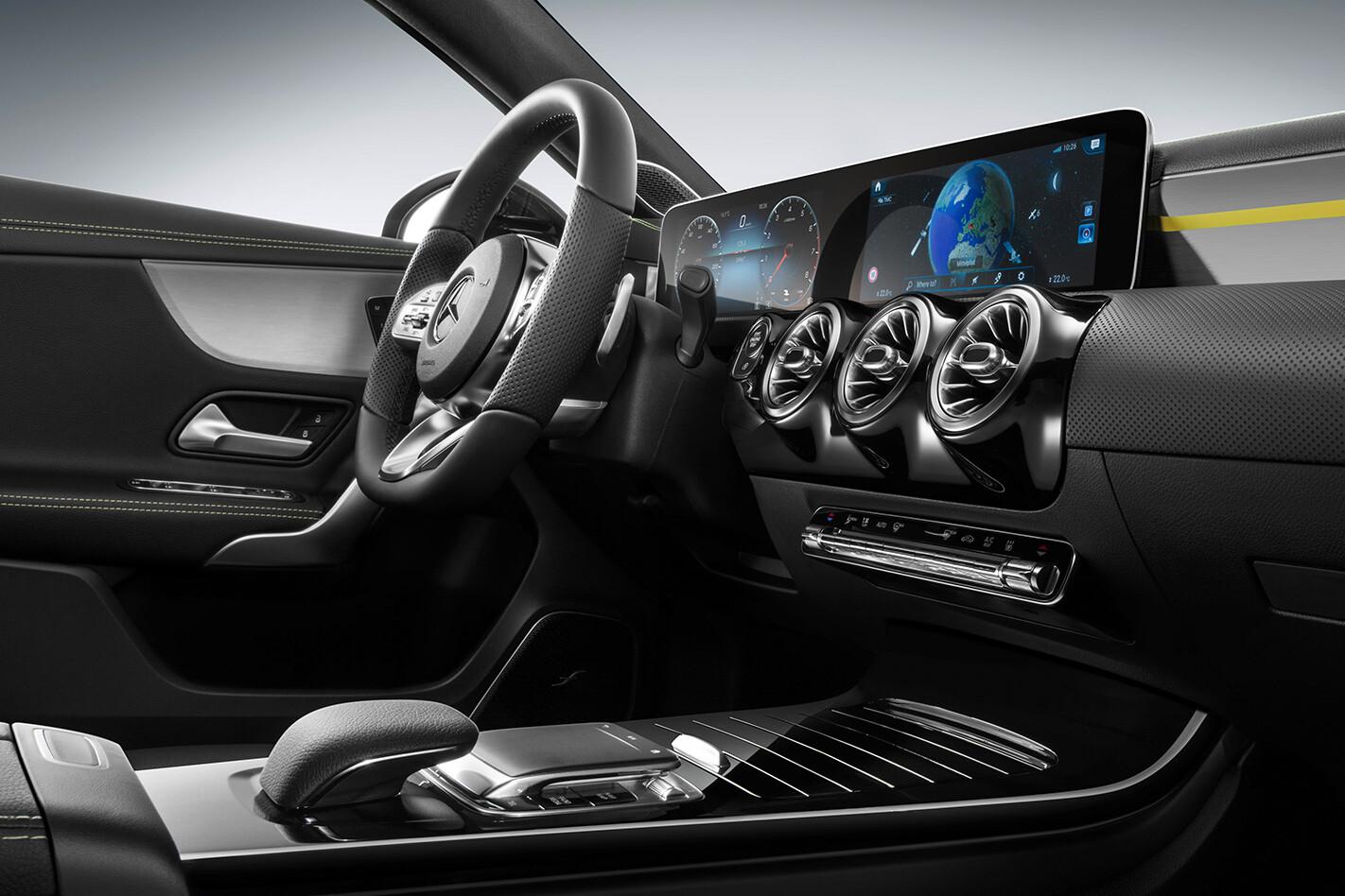 2018 Mercedes-Benz A-class electronics