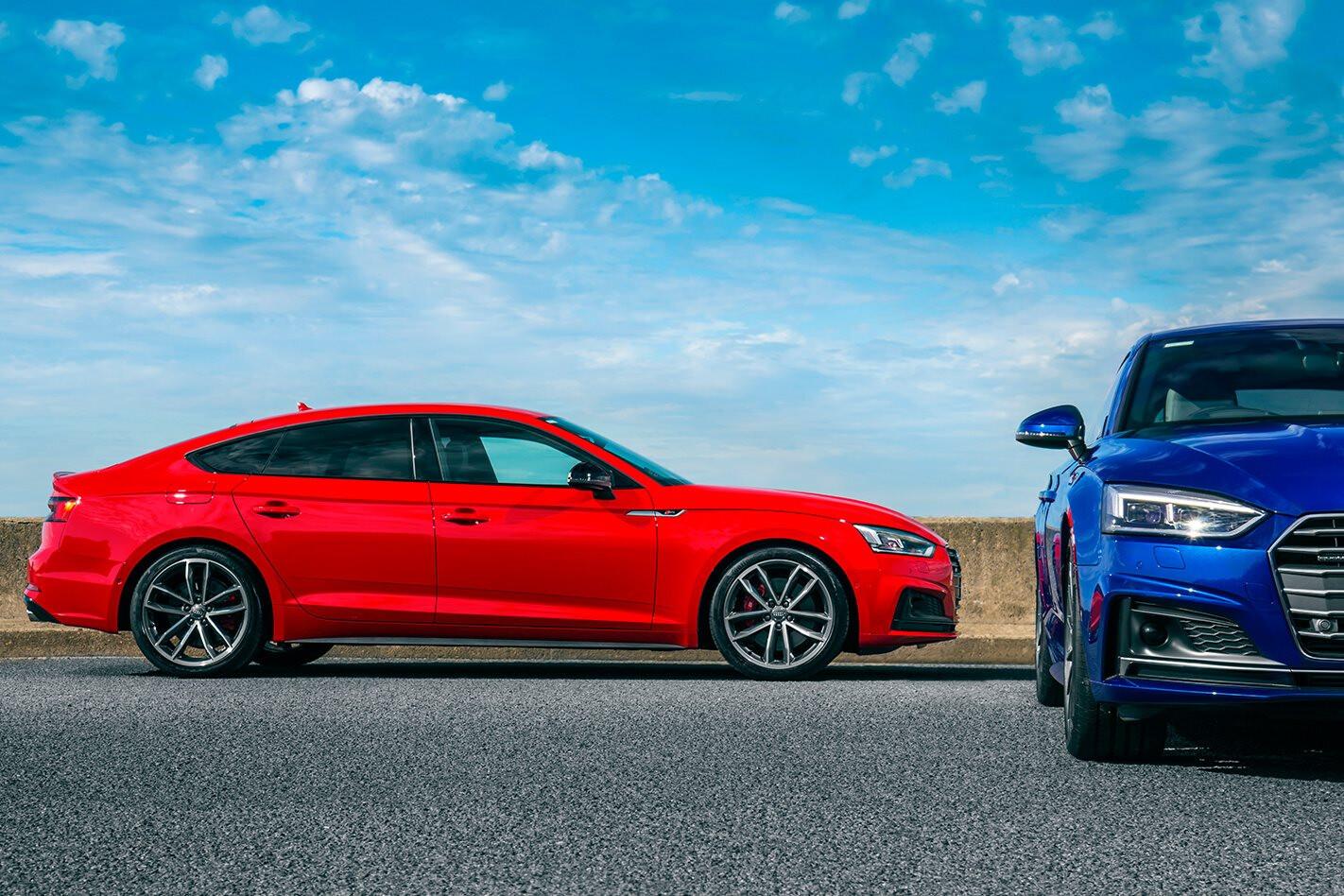 Audi Australia maps RS assault