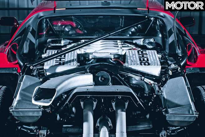 120000 Km Ferrari F 40 GT Engine Jpg