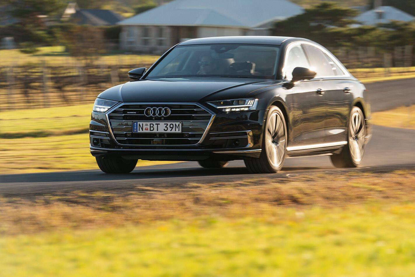 Audi A 8 Front Pan Jpg