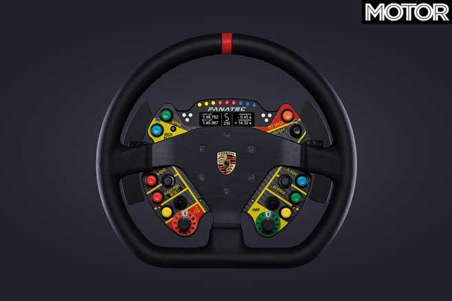 Porsche 911 GT 3 R Sim Racing Wheel Cool Car Things Jpg