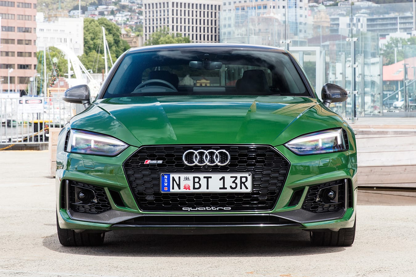 2018 Audi Rs 5 Green Front Static Jpg