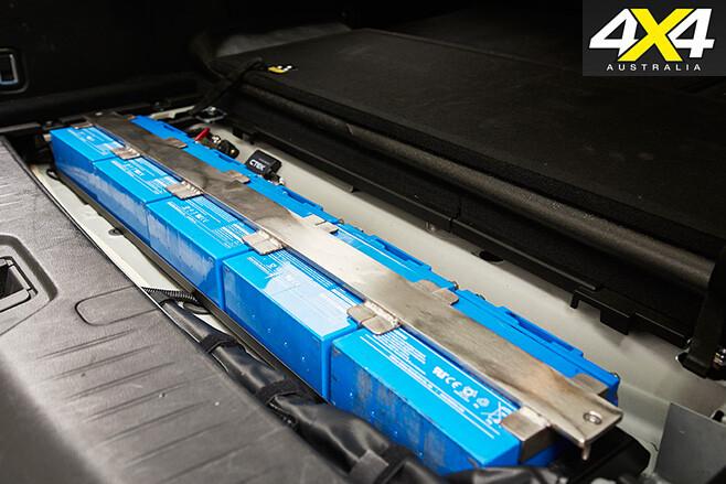 Supercharged Nissan Patrol Y62 batteries