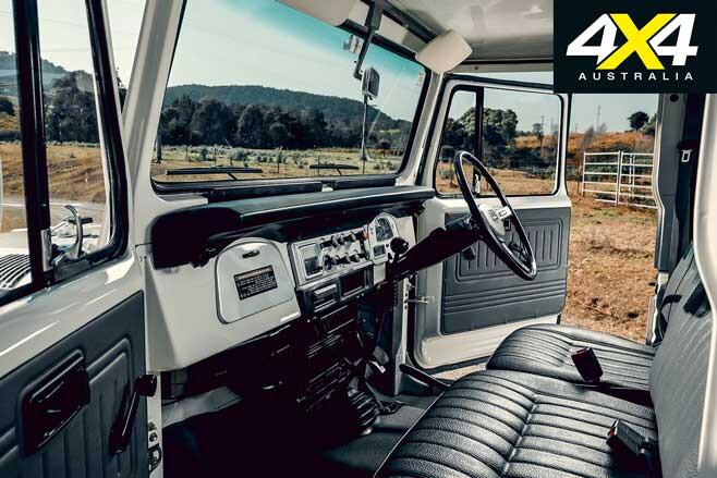 Restored Custom 1984 Toyota Land Cruiser FJ 45 Interior Jpg