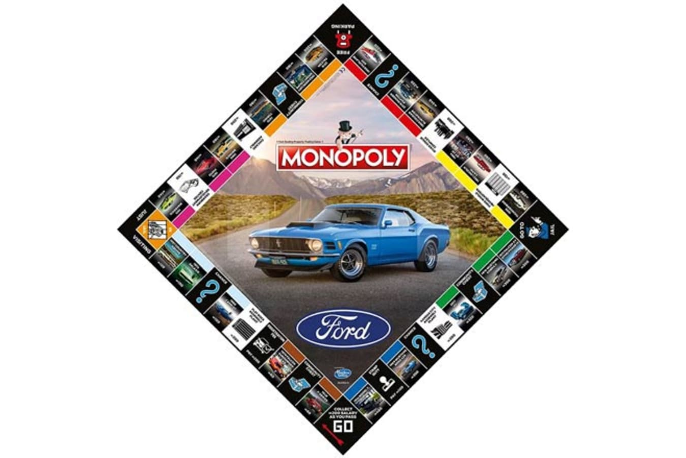 Ford Monopoly Board