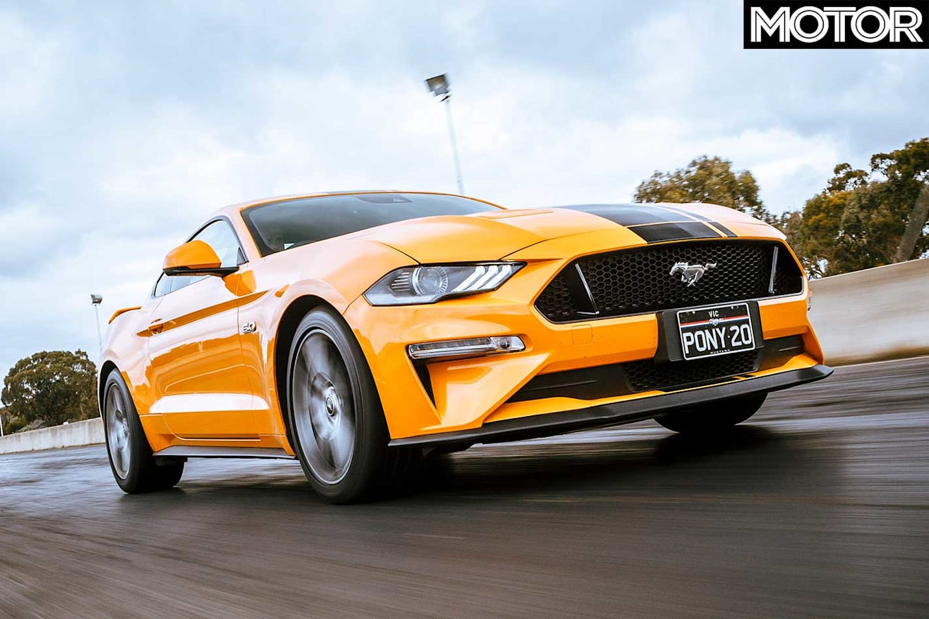 2018 Ford Mustang GT Front Acceleration Jpg