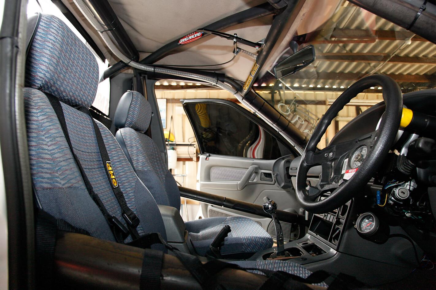 Holden VR ute interior