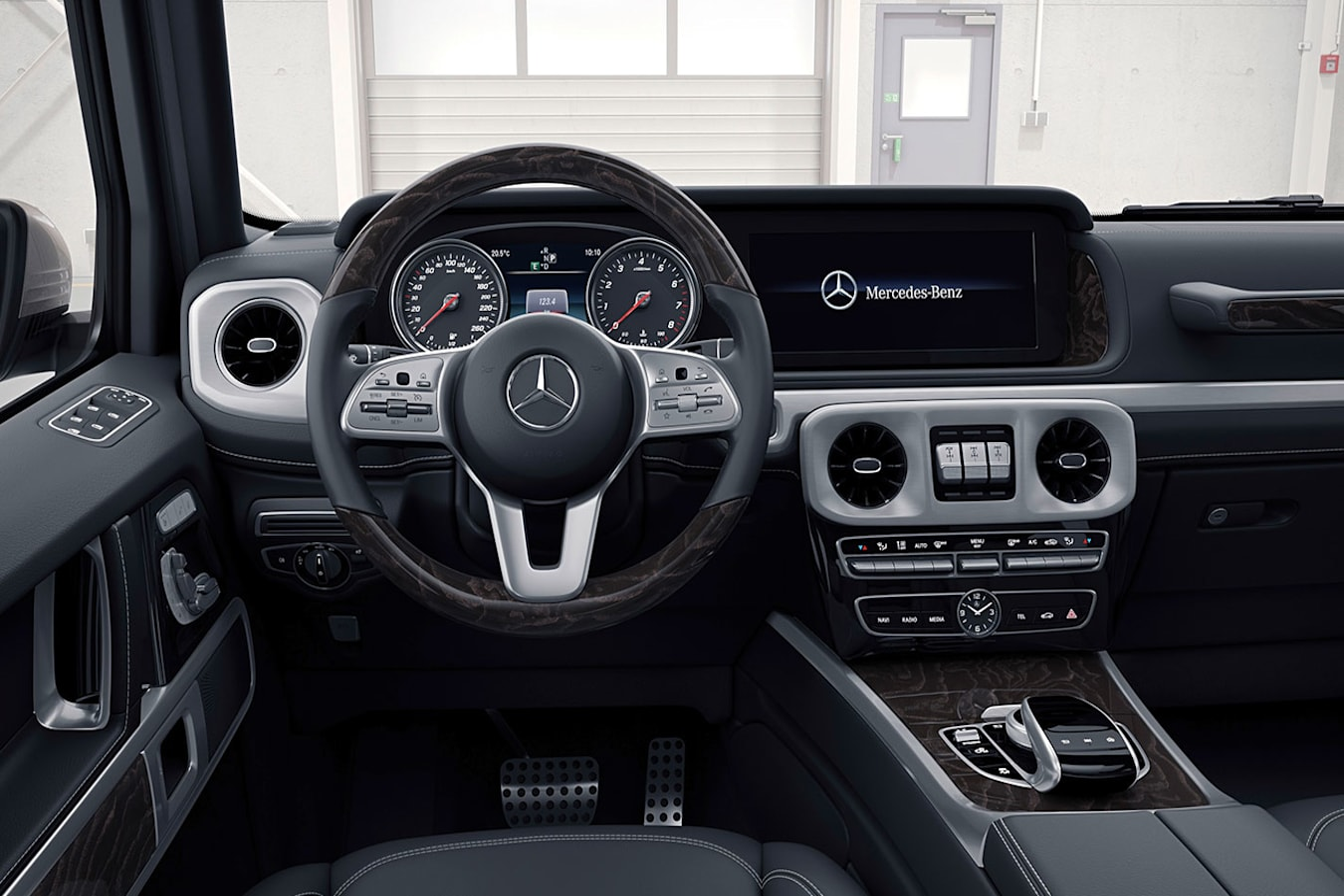 G-Class interior