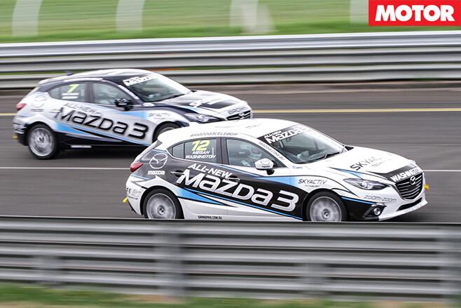 Mazda celebrity race 9