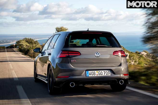 VW Golf GTI TCR Rear Jpg