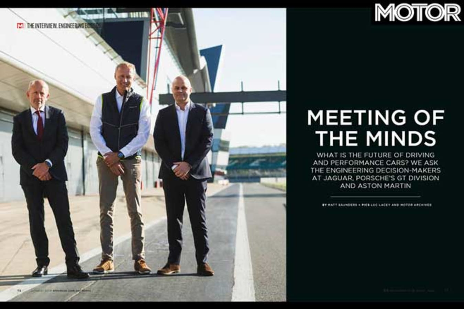 MOTOR Magazine October 2019 Issue Mike Cross Andreas Preuninger Matt Becker Interviewed Jpg