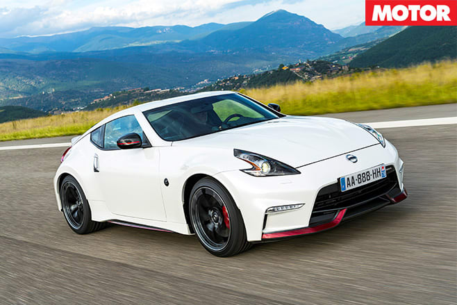Nissan 370Z Nismo front  driving