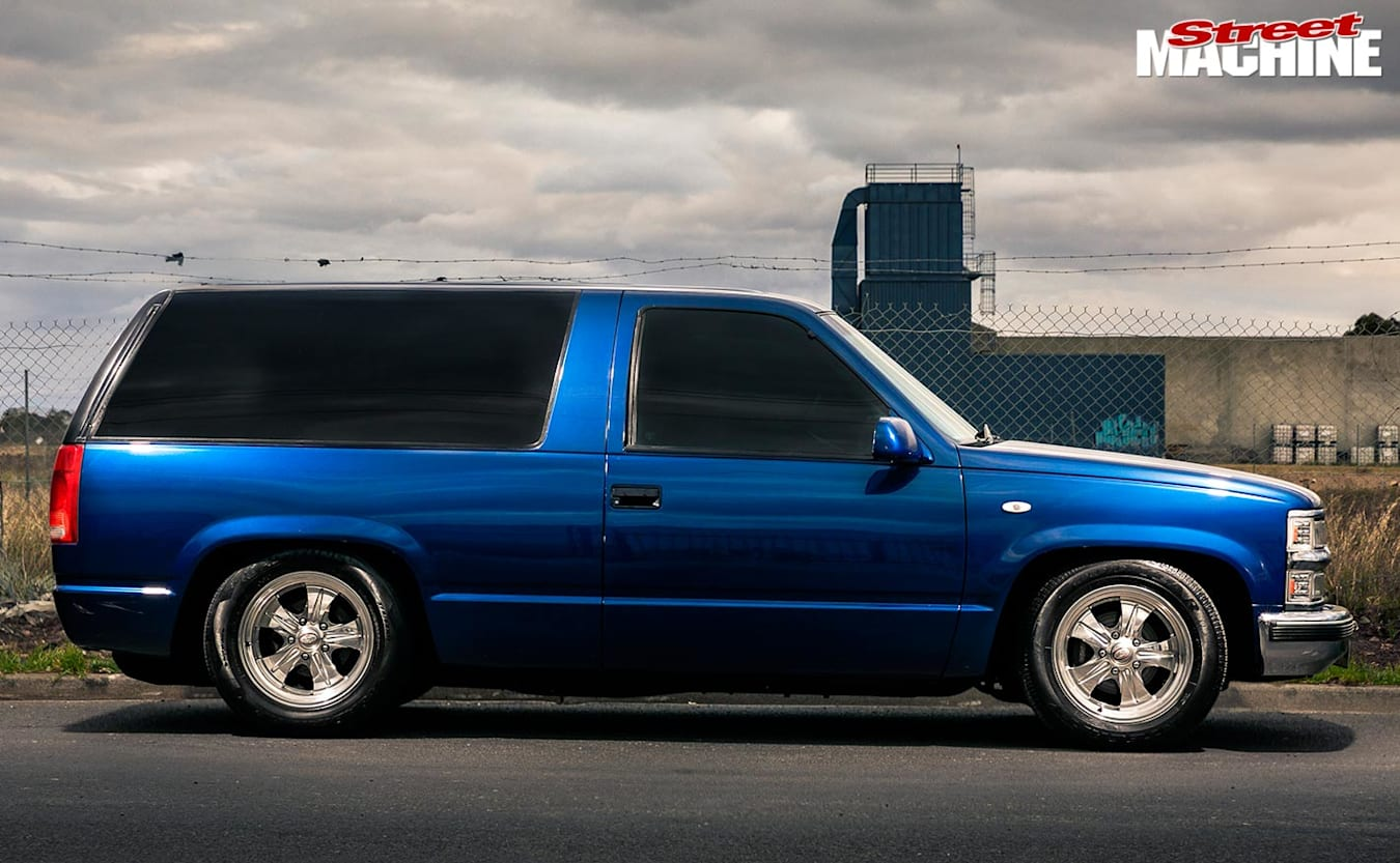 Chevy Tahoe side