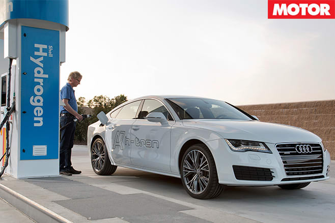 Refuelling the A7 H-tron