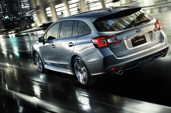 Subaru Levorg Rear Quarter Jpg