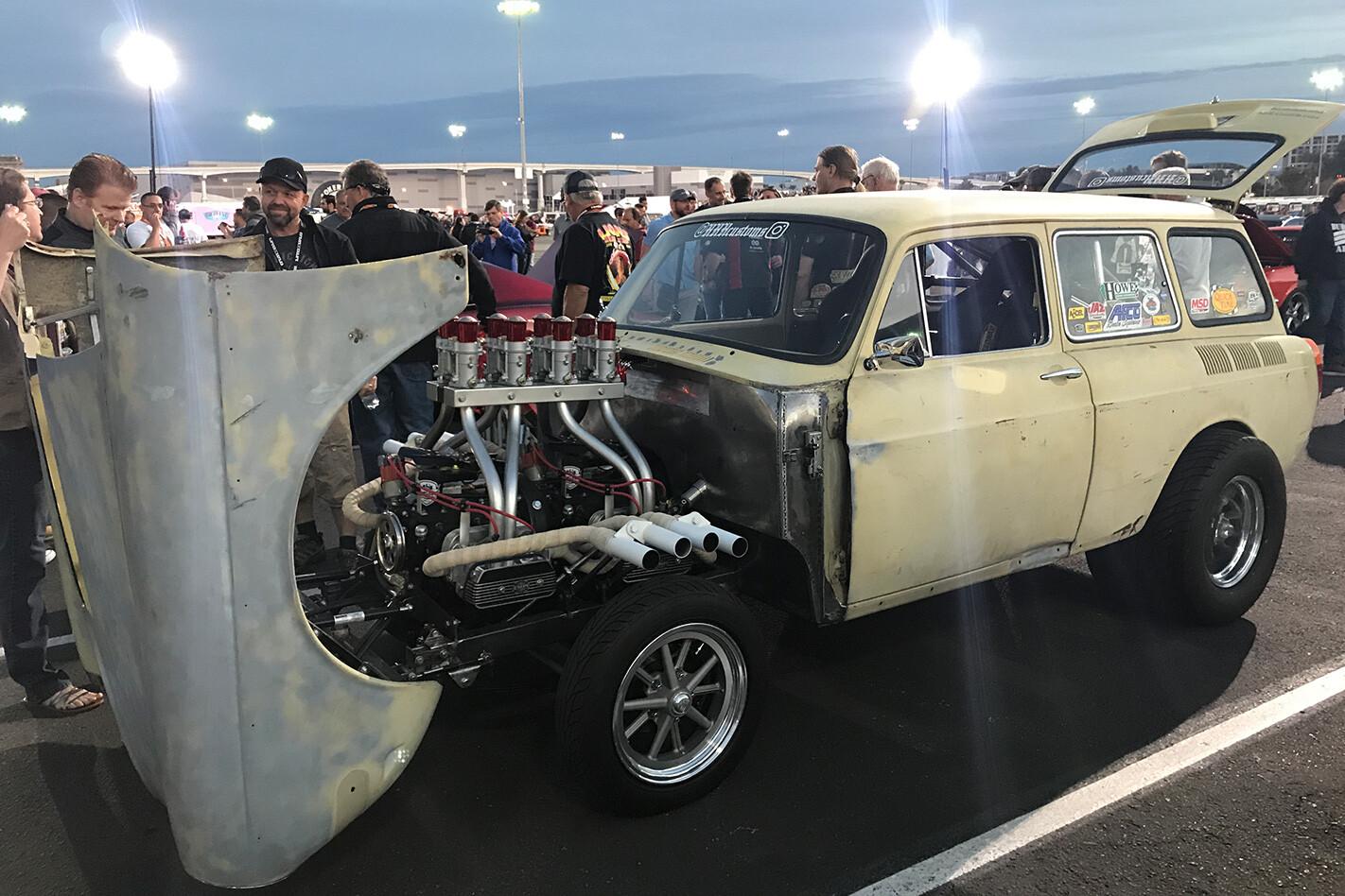 VW twin engine gasser