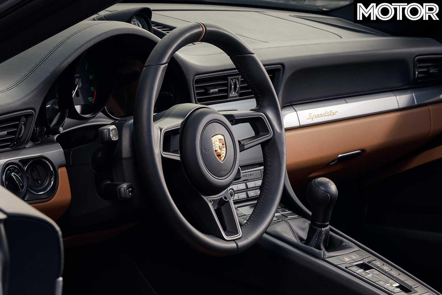 2019 Porsche 911 Speedster Interior Jpg