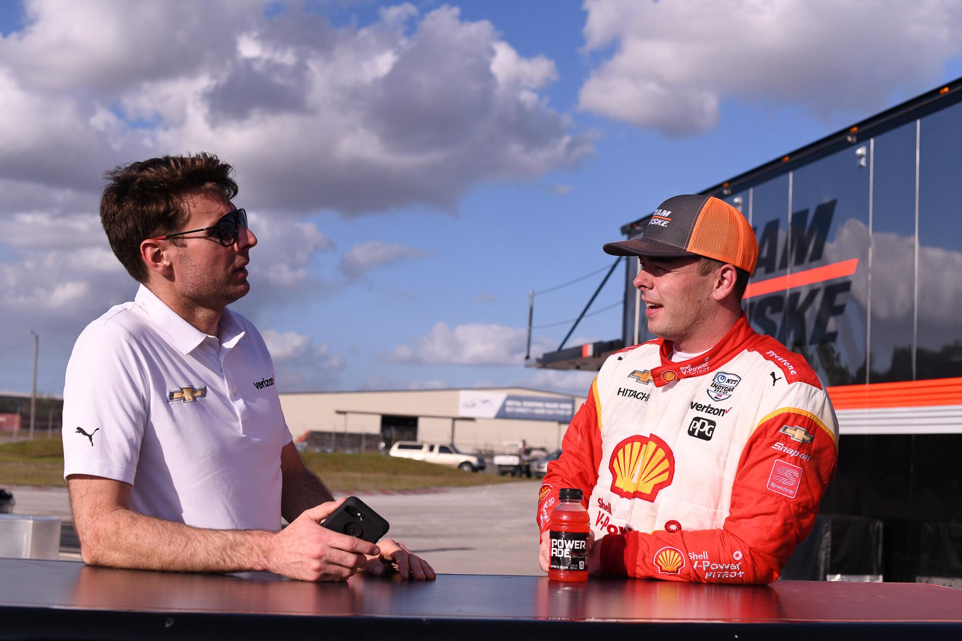 Will Power Scott McLaughlin IndyCar 2020