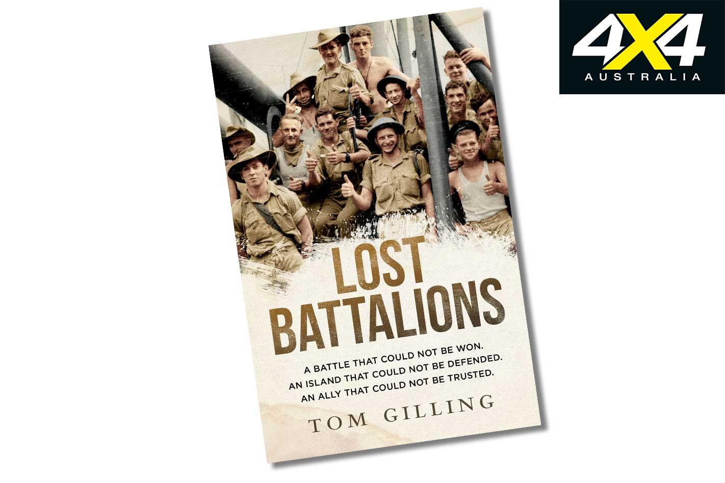 New 4 X 4 Gear Lost Battalion Book Jpg