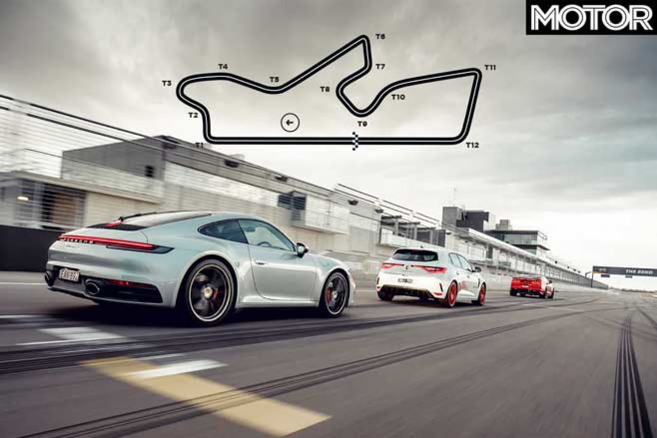 Performance Car Of The Year 2020 Track Test Circuit Layout Jpg