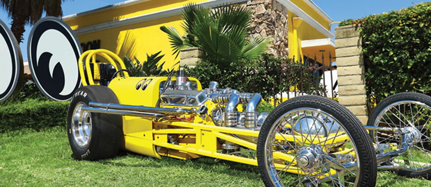 mooneyes dragster nw