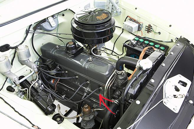 Holden six motor