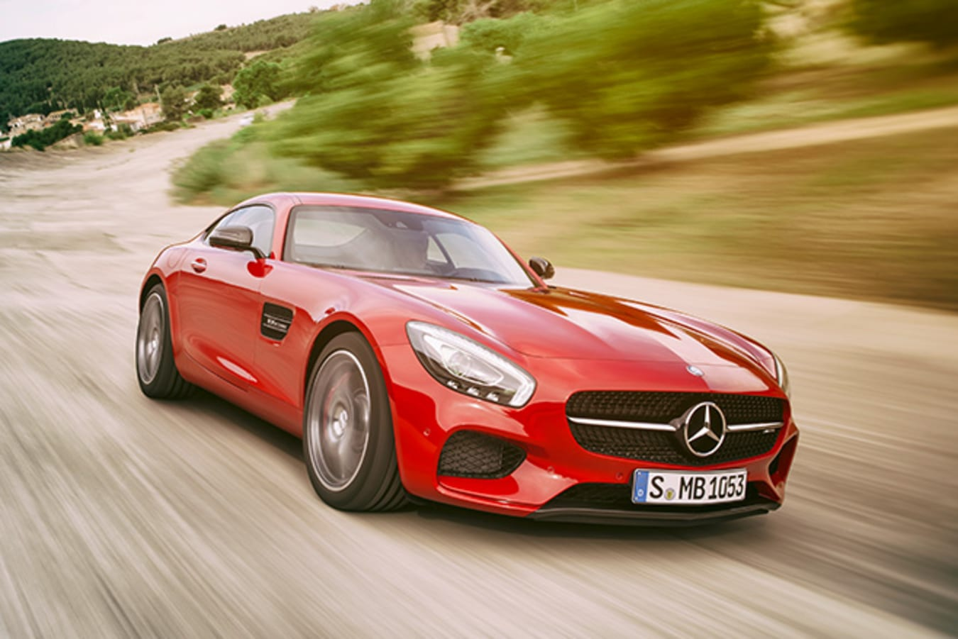 Mercedes-AMG GT front side driving