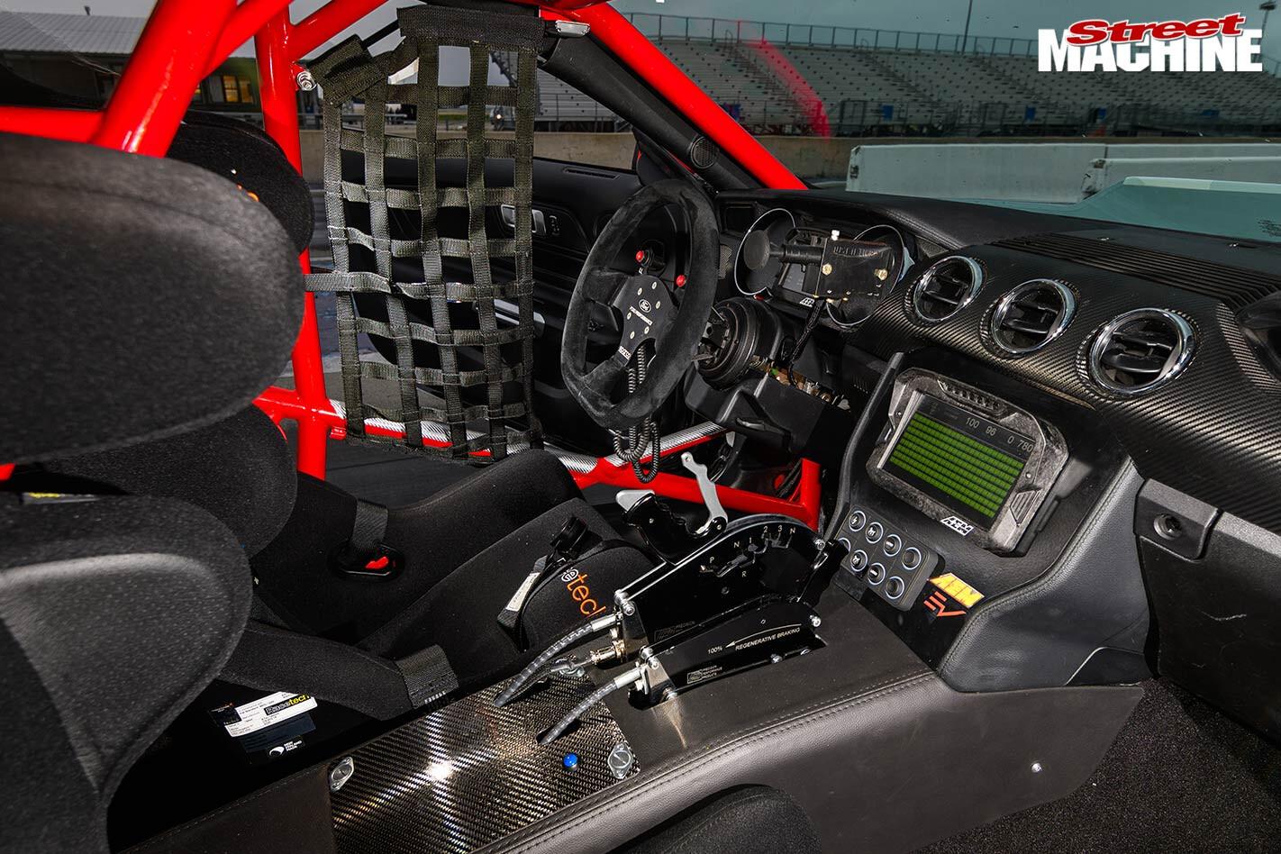 Ford Cobra Jet 1400 interior